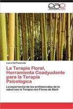 La Terapia Floral, Herramienta Coadyudante Para La Terapia Psicologica:  Norte Chico Chileno a 30 Anos de Desarrollo