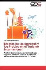 Efectos de Los Ingresos y Los Precios En El Turismo Internacional:  Norte Chico Chileno a 30 Anos de Desarrollo