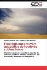 Fisiologia Integrativa y Adaptativa de Roedores Subterraneos:  Escenarios Energeticos