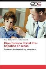Hipertension Portal Pre-Hepatica En Ninos:  Un Ecosistema Antropogenico
