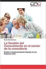 La Gestion del Conocimiento En El Sector de La Consultoria:  Lentes Para Ojo Faquico