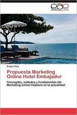 Propuesta Marketing Online Hotel Embajador