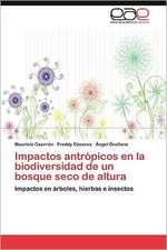 Impactos Antropicos En La Biodiversidad de Un Bosque Seco de Altura:  Una Tierra Para La Libertad