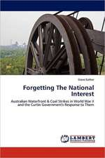 Forgetting The National Interest