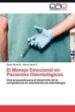 El Manejo Emocional En Pacientes Odontologicos:  Perspectiva de Genero