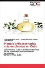 Plantas Antiparasitarias Mas Empleadas En Cuba