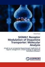 SIGMA1 Receptor Modulation of Dopamine Transporter: Molecular Analysis
