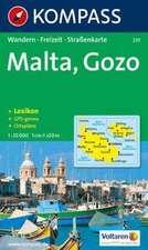 Malta, Gozo 1 : 25 000