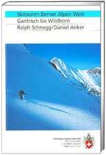 SAC Berner Alpen West Skitouren
