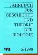 Jahrbuch für Geschichte und Theorie der Biologie