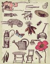 Vintage Garden Blankbook