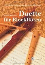 Duette für Blockflöten