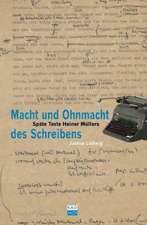 Ludwig, J: Macht und Ohnmacht des Schreibens