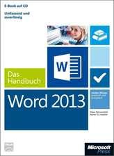 Microsoft Word 2013 - Das Handbuch