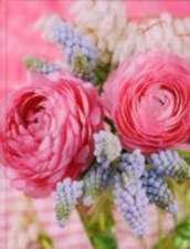 Flowerarrangement Blank Book large