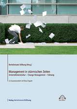 Management in stürmischen Zeiten. CD