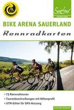 Bike Arena Sauerland: Rennradkarten (wetterfest)