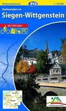 Radwandern in Siegen-Wittgenstein 1 : 50 000. Radwanderkarte