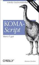 KOMA-Script - kurz & gut