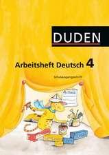 Duden Sprachbuch 4 A. Arbeitsheft. Schulausgangsschrift