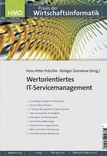 Wertorientiertes IT-Servicemanagement