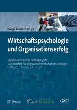 Wirtschaftspsychologie und Organisationserfolg