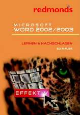 Microsoft Word 2002/2003