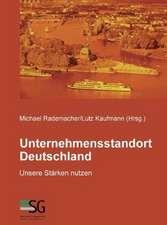 Unternehmensstandort Deutschland