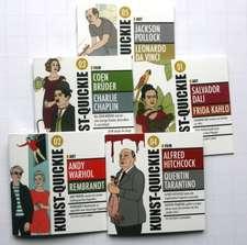 Kunst-Quickie, 5 Minibücher, Booklits, Geschichten to go!