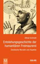 Entstehungsgeschichte der humanitären Freimaurerei