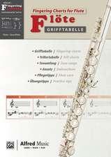 Grifftabelle Flöte   Fingering Charts Flute