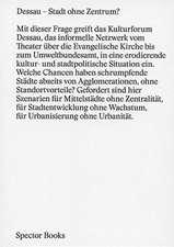 Dessau - Dessau Stadt ohne Zentrum?