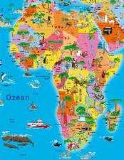 Illustrierte politische Weltkarte