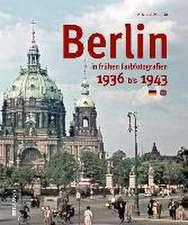 Berlin in frühen Farbfotografien