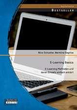 E-Learning Basics:  E-Learning Methoden Und Deren Einsatz Einfach Erklart