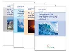 Fit in Grammatik und Rechtschreibung - Paket 4 Hefte