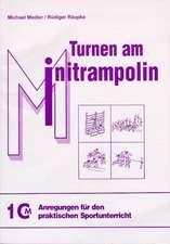 Turnen am Minitrampolin
