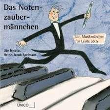 Das Notenzaubermännchen. 2 CDs