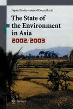 The State of the Environment in Asia: 2002/2003