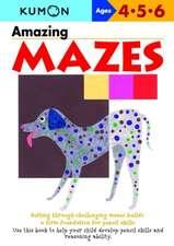 Amazing Mazes: Copii 4-6 ani