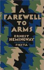 A Farewell to Arms, Jonathan Cape Edition