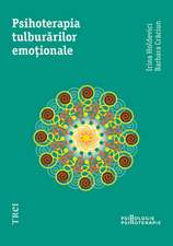 Psihoterapia tulburărilor emoţionale