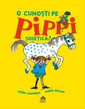 O cunoști pe Pippi Șosețica?