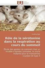 Role de La Serotonine Dans La Respiration Au Cours Du Sommeil:  Apports de La Microscopie Electronique