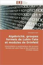 Algebricite, Groupes Formels de Lubin-Tate Et Modules de Drinfeld:  de L'Empire a la Republique (1850-1891)