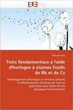 Tests Fondamentaux A L'Aide D'Horloges a Atomes Froids de RB Et de CS:  Integration Et/Ou Assimilation?
