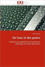 de L''Eau Et Des Grains:  Etat Des Lieux Et Defis