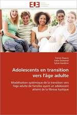 Adolescents En Transition Vers L'Age Adulte:  Auto-Financement de Soins de Sante, ''Social-Re''