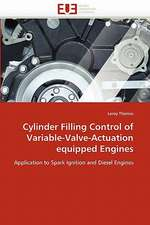 Cylinder Filling Control of Variable-Valve-Actuation equipped Engines