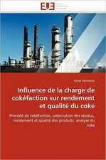 Influence de La Charge de Cokefaction Sur Rendement Et Qualite Du Coke:  Impact D'Une Hospitalisation